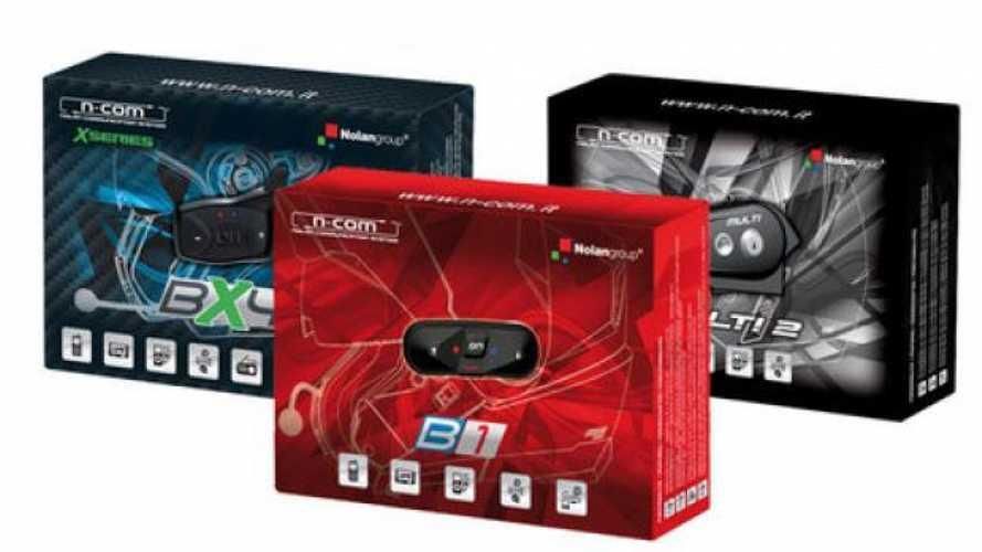 Nolan Group: ecco i nuovi kit bluetooth N-Com 2013