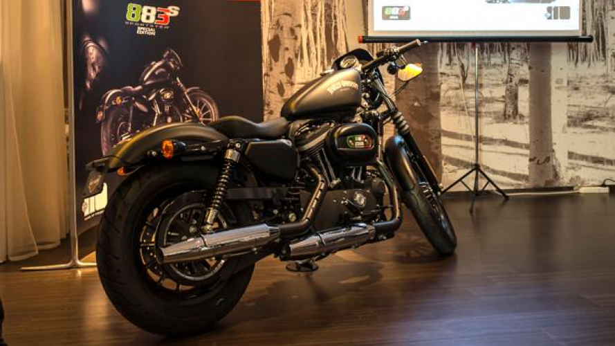 Harley-Davidson Sportster Iron 883 Special Edition S 2013