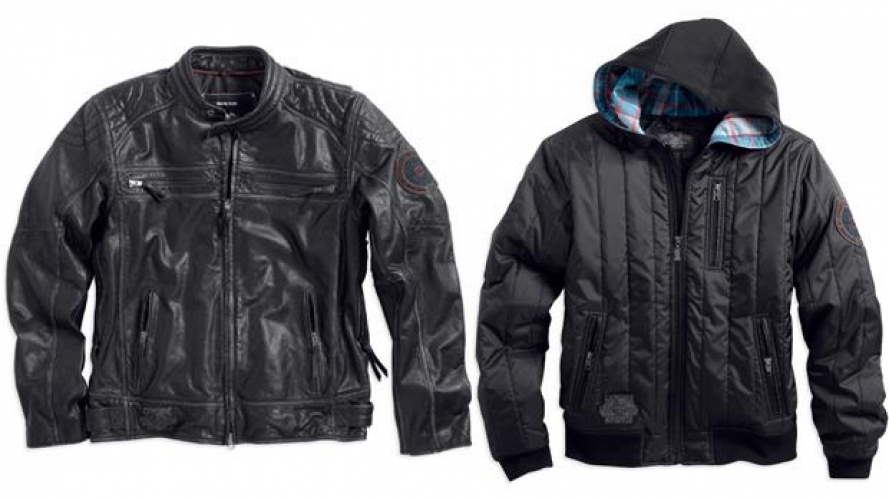 Harley-Davidson Motorclothes: Collezione Black Label Fall & Holiday 2013