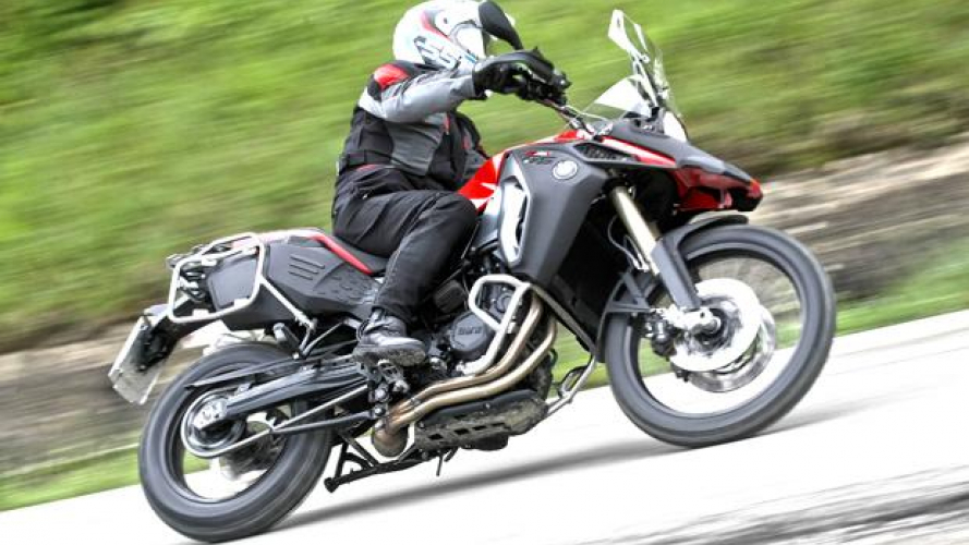 BMW F 800 GS Adventure - TEST
