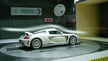 Gemballa Carrera GT wind tunnel testing,company photos, 25.02.2010