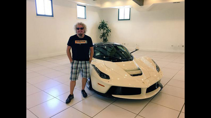 LaFerrari color cappuccino per Sammy Hagar