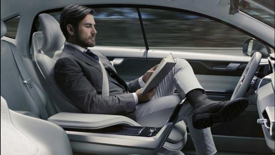 """Volvo presenta la Concept car che ti """"regala"""" 26 minuti di tempo"""