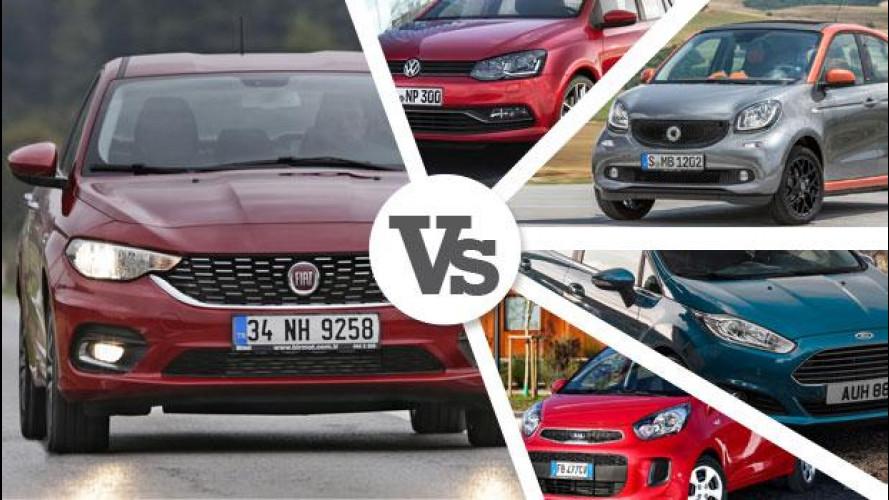 Nuova Fiat Tipo, le concorrenti allo stesso prezzo