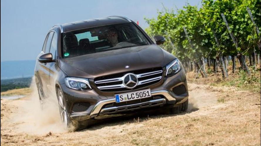 Mercedes GLC, il SUV vero ha la Stella