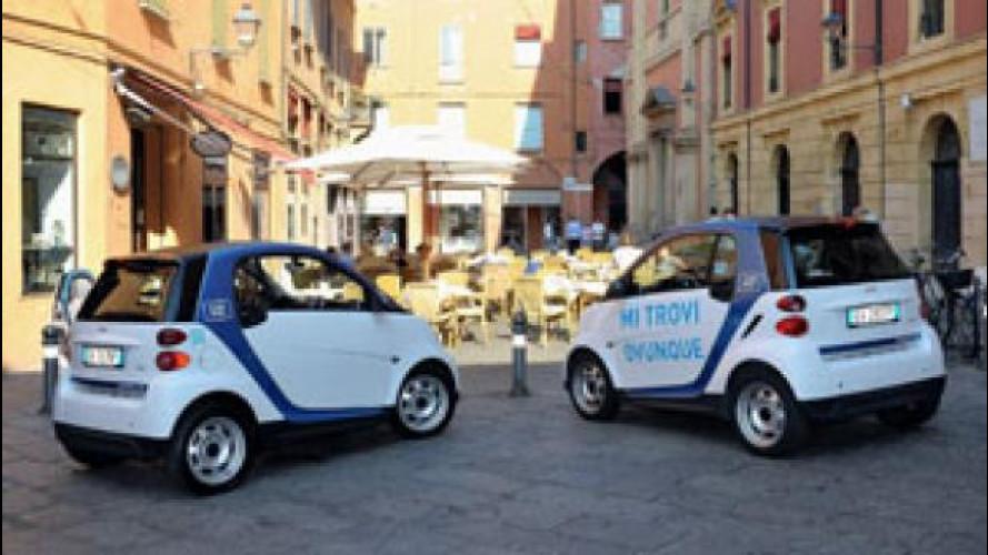 car2go, a Bologna aperte le iscrizioni