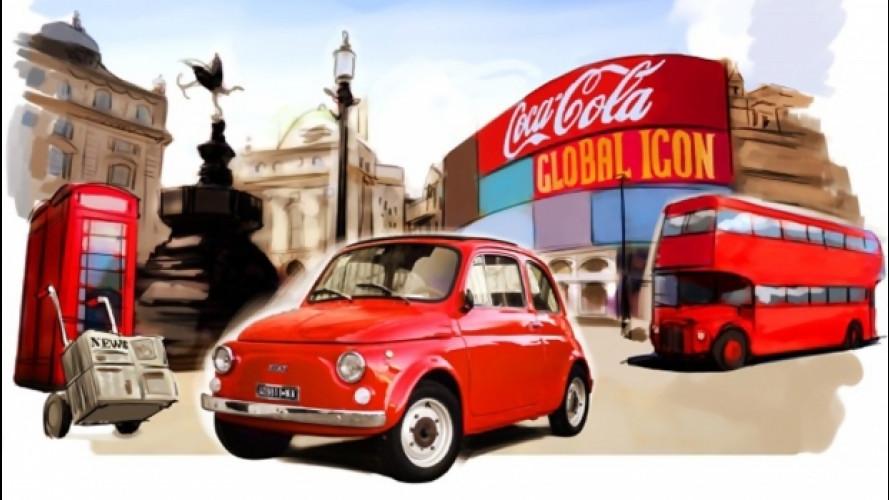 La Fiat 500 è tornata nella Londra degli Anni '60