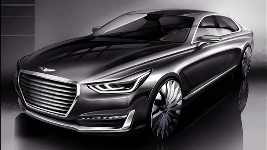 Genesis G90, il premium secondo Hyundai