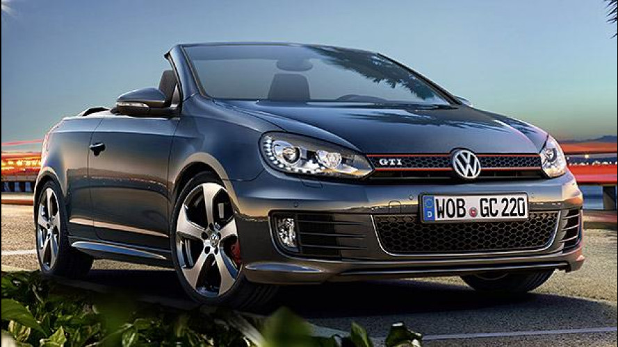 Volkswagen Golf GTI Cabriolet restyling, 220 CV open air