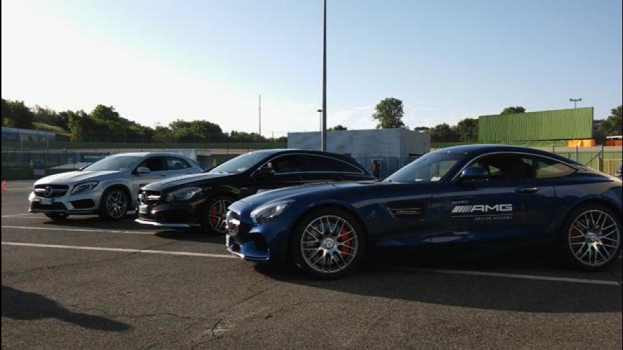 AMG Driving Academy, a scuola di potenza