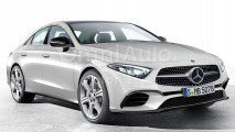 Nuova Mercedes CLS, il rendering