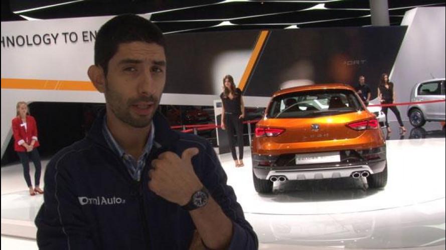 Salone di Francoforte, Seat prova il SUV sportivo [VIDEO]