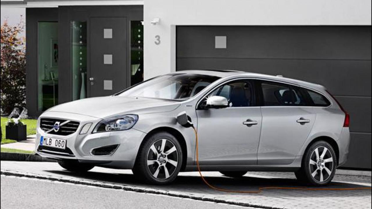 [Copertina] - Volvo, l'auto elettrica nel 2019