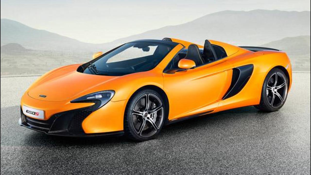 [Copertina] - McLaren 650S Spider, sfida aperta