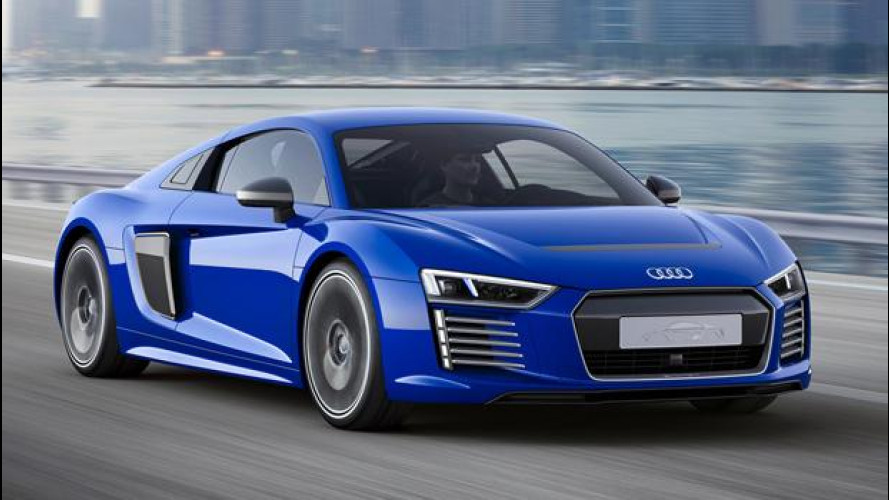 "Audi R8 e-tron piloted driving, ""Io Robot"" diventa realtà"