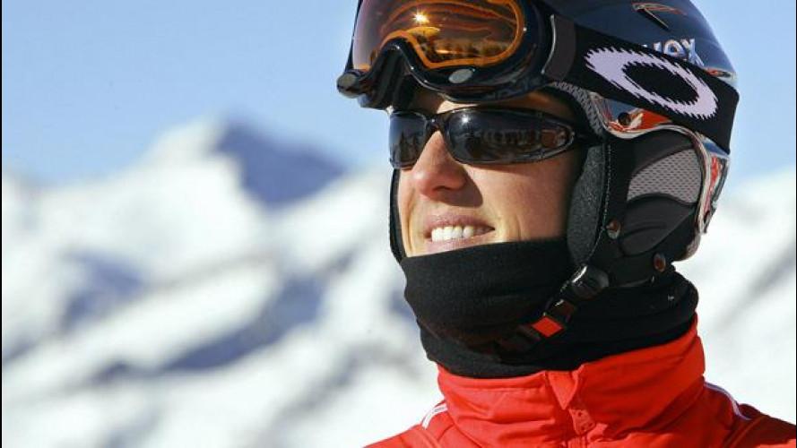 """Schumacher, l'incidente """"raccontato"""" dalla telecamera"""