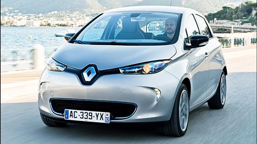"""Renault Zoe, più strada con un """"pieno"""""""
