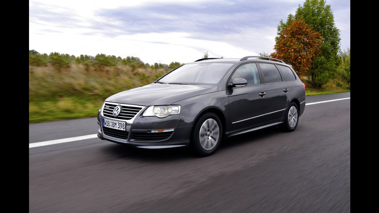Nuova Volkswagen Passat BlueMotion