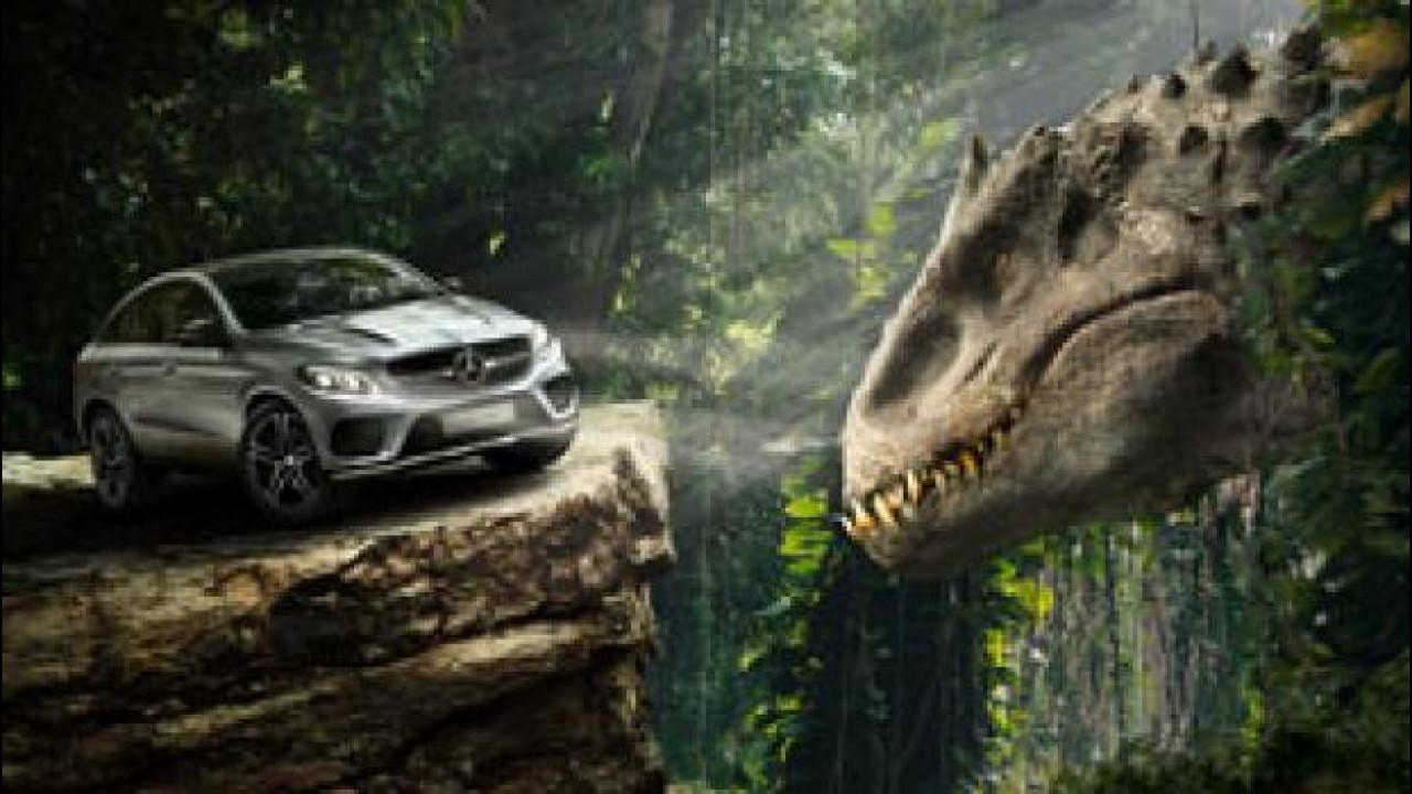 [Copertina] - Mercedes, le auto ufficiali di Jurassic World
