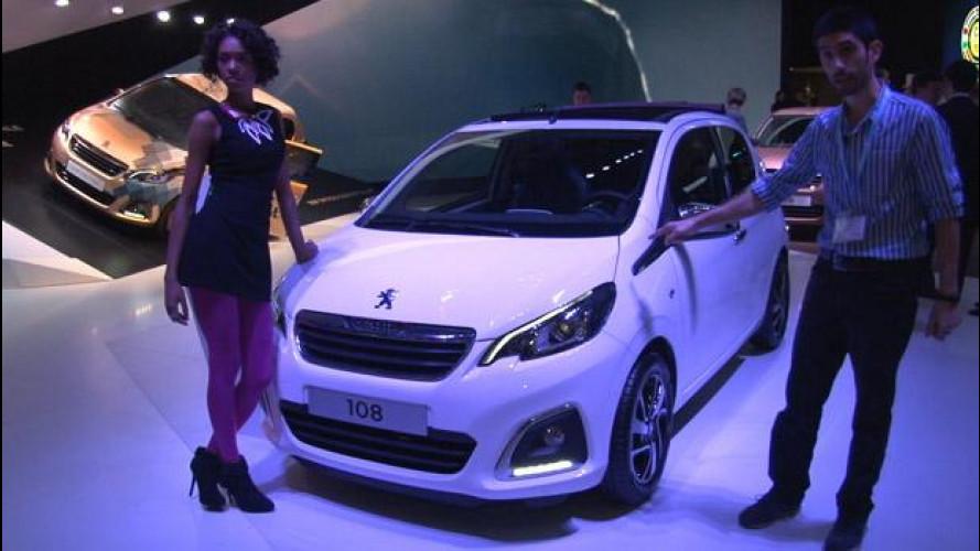 Peugeot 108: piccola, sei la più simpatica di Ginevra