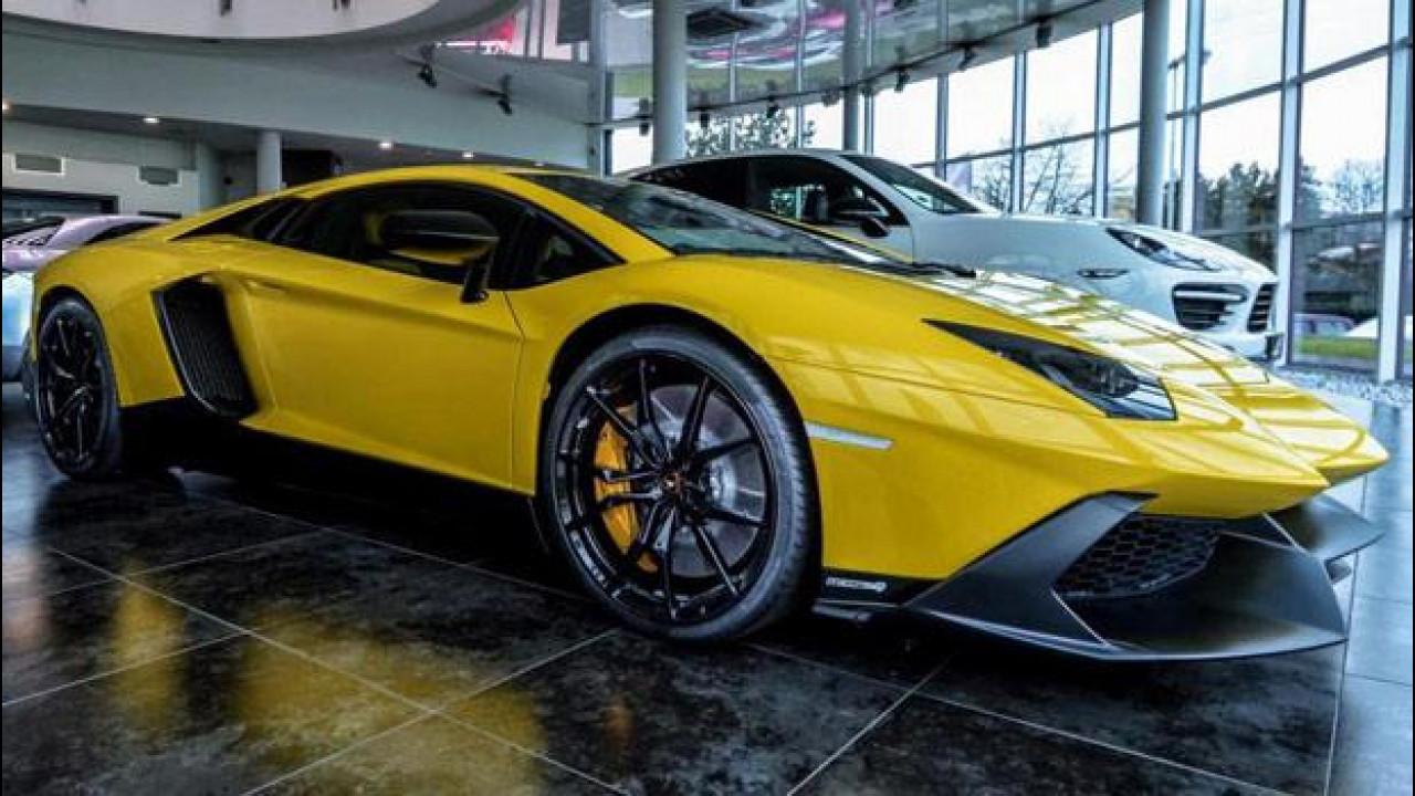[Copertina] - Lamborghini Aventador 50mo, Carlex Design le rifà il look