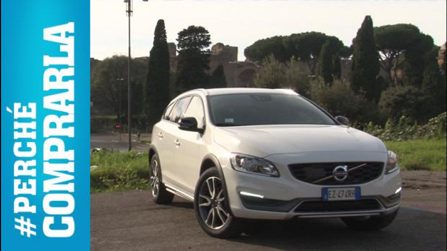 Volvo V60 Cross Country, perché comprarla… e perché no [VIDEO]