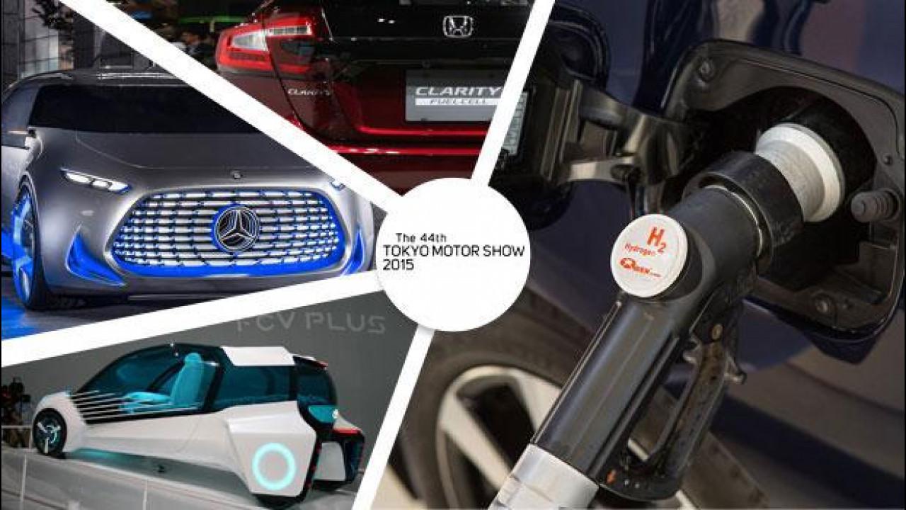 [Copertina] - Auto a idrogeno, il futuro passa da Tokyo