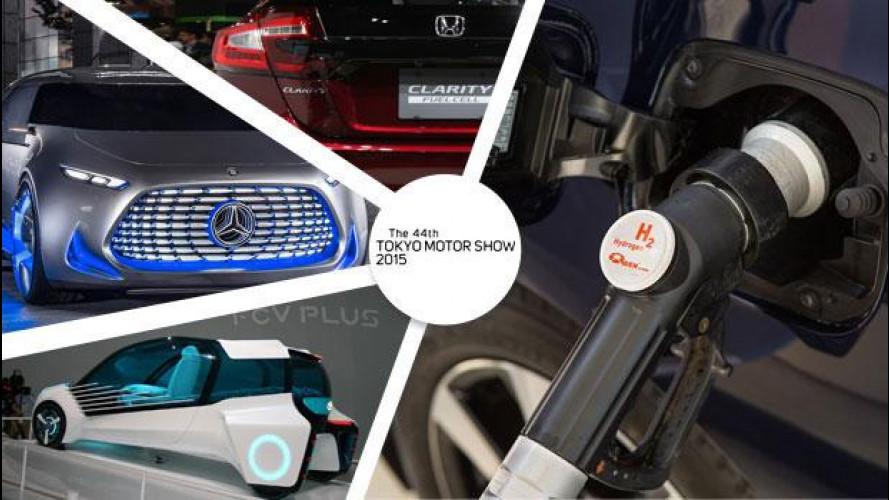 Auto a idrogeno, il futuro passa da Tokyo