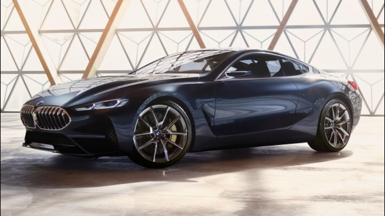 [Copertina] - BMW Serie 8 Concept, quando l'ammiraglia ha due porte