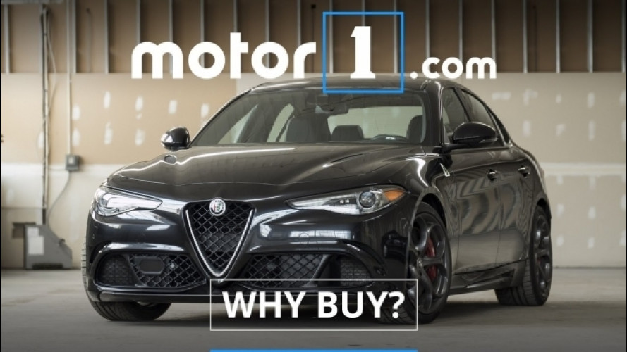 Alfa Romeo Giulia Quadrifoglio, agli americani piacerebbe manuale [VIDEO]