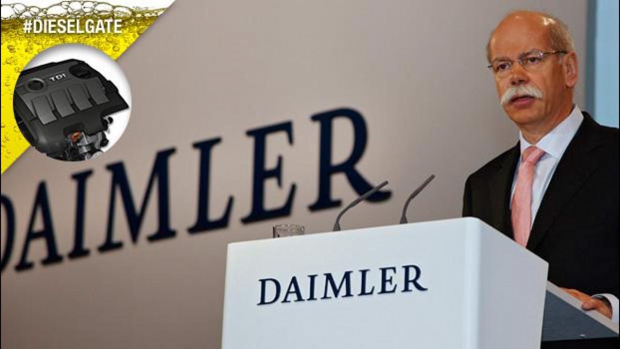 [Copertina] - Dieselgate, Daimler (Mercedes e smart) nega ogni coinvolgimento