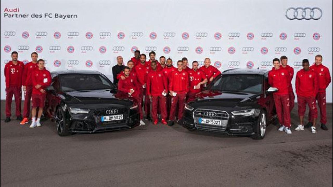 [Copertina] - Audi, le auto per i calciatori del Bayern Monaco [VIDEO]