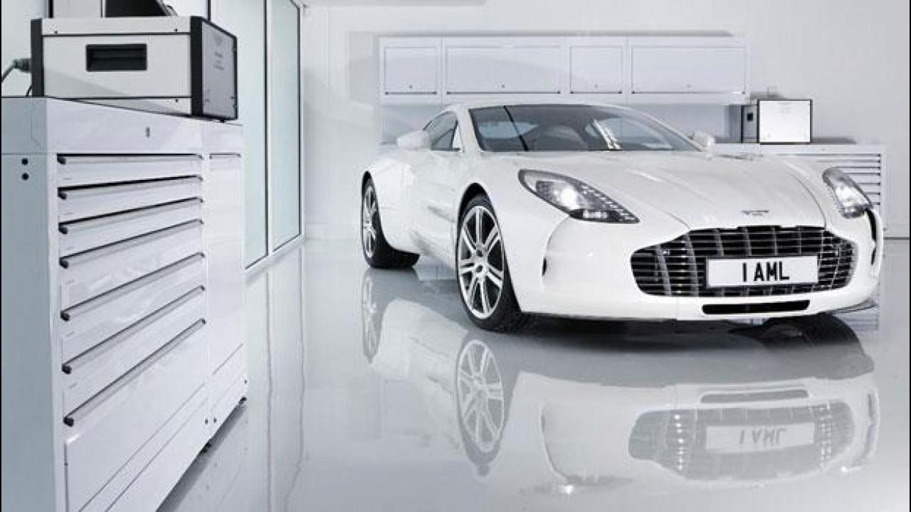 [Copertina] - Aston Martin One-77, unica e settantasettesima