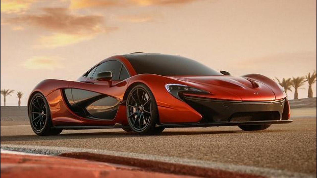 [Copertina] - McLaren P1, nuove foto della concept