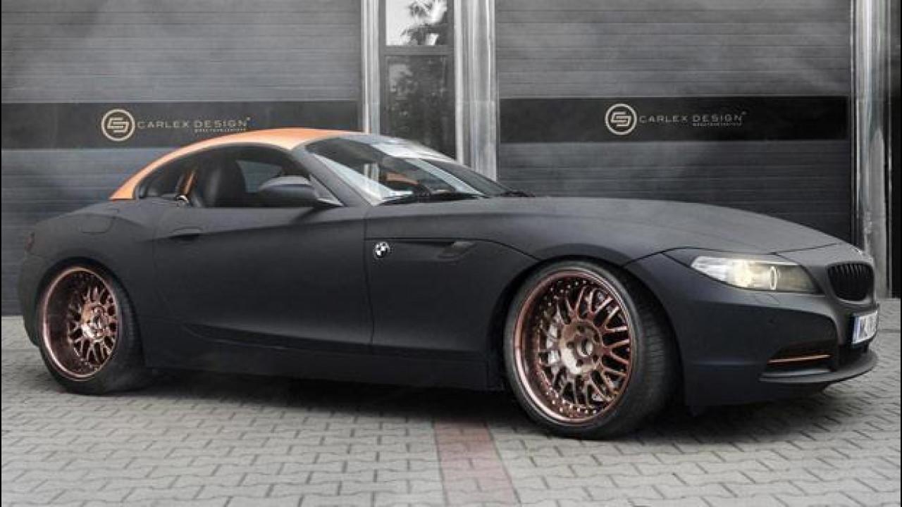 [Copertina] - BMW Z4 Punk Z, interni fantascientifici by Carlex Design