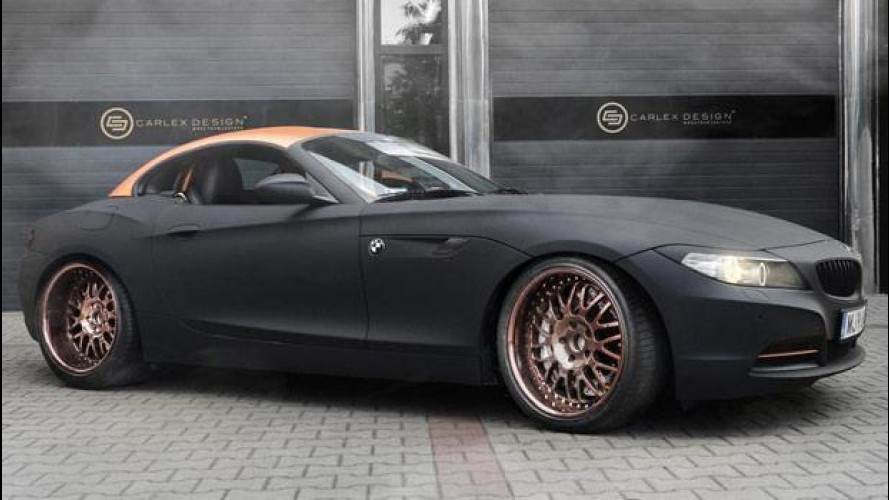 BMW Z4 Punk Z, interni fantascientifici by Carlex Design