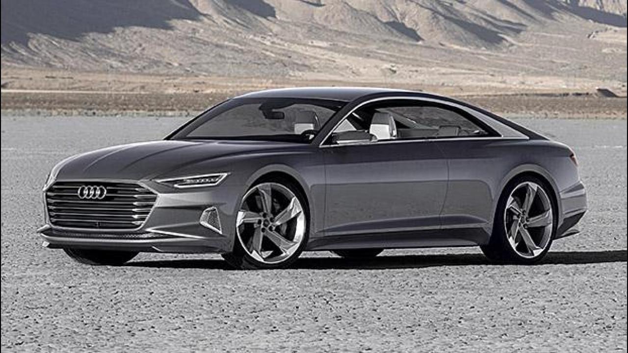 [Copertina] - Audi prologue piloted driving, la chiami e lei arriva