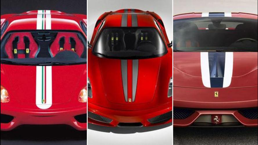 Tutte le Ferrari con le strisce