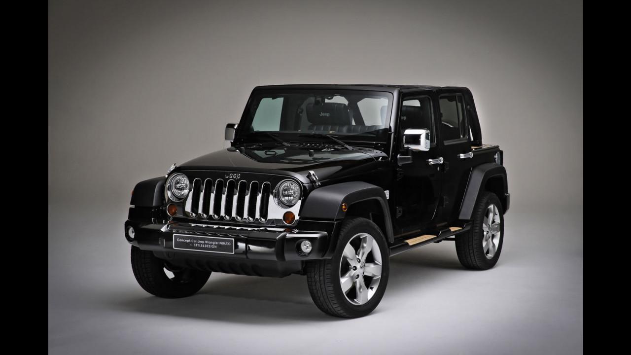Black Jeep Wrangler Nautic