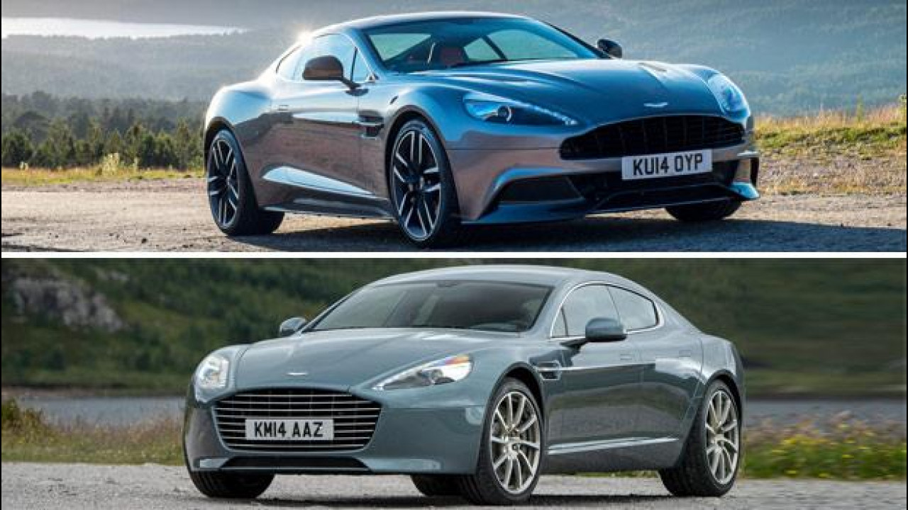 [Copertina] - Aston Martin Vanquish e Rapide S MY 2015