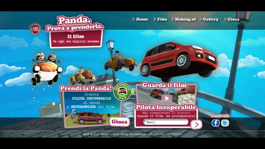 La nuova Panda diventa un gioco online