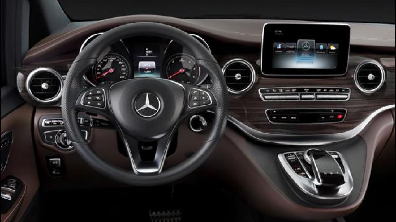 [Copertina] - Mercedes Classe V, la vettura più spaziosa della Stella