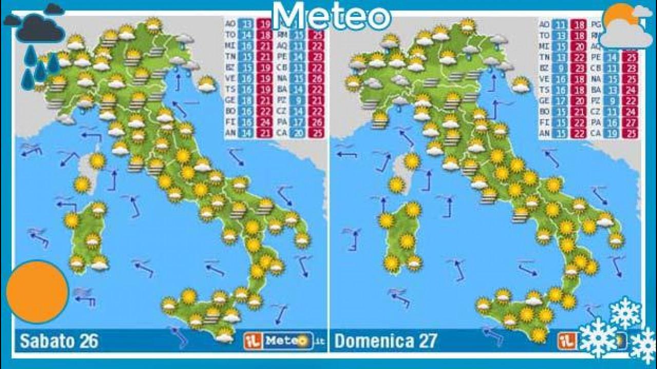 [Copertina] - Meteo del fine settimana 26 e 27 ottobre: sole e caldo