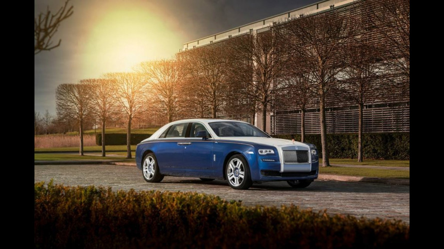 Rolls-Royce Ghost Mysore edition, omaggio all'India