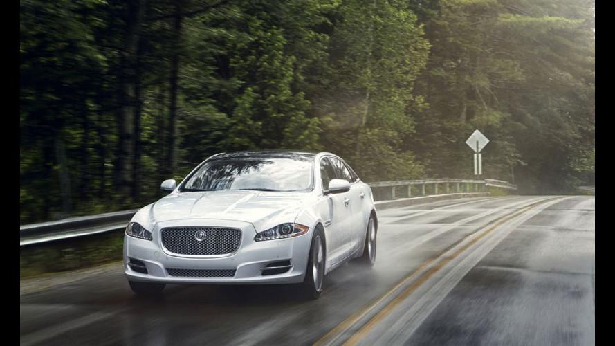 Jaguar XF e XJ a trazione integrale AWD