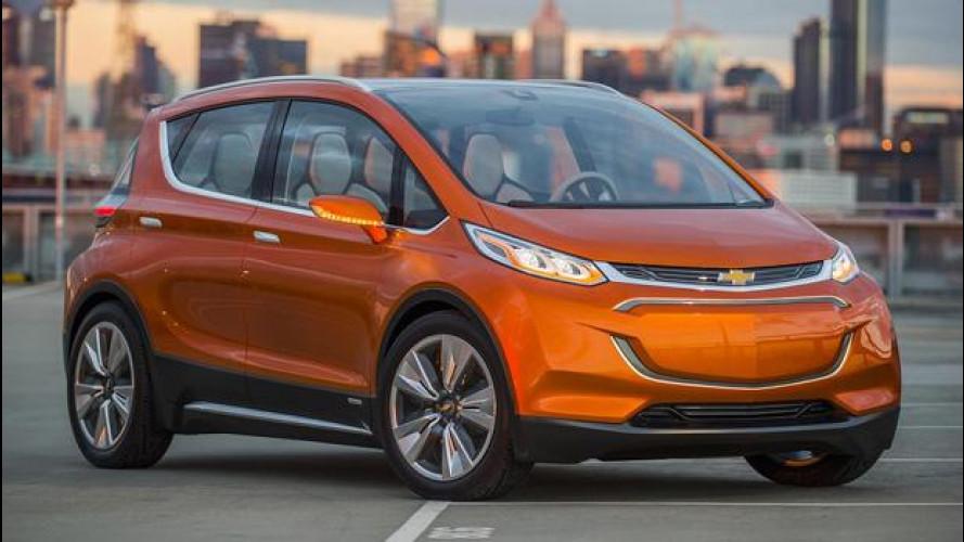 Chevrolet Bolt EV concept, sfida alle elettriche da città
