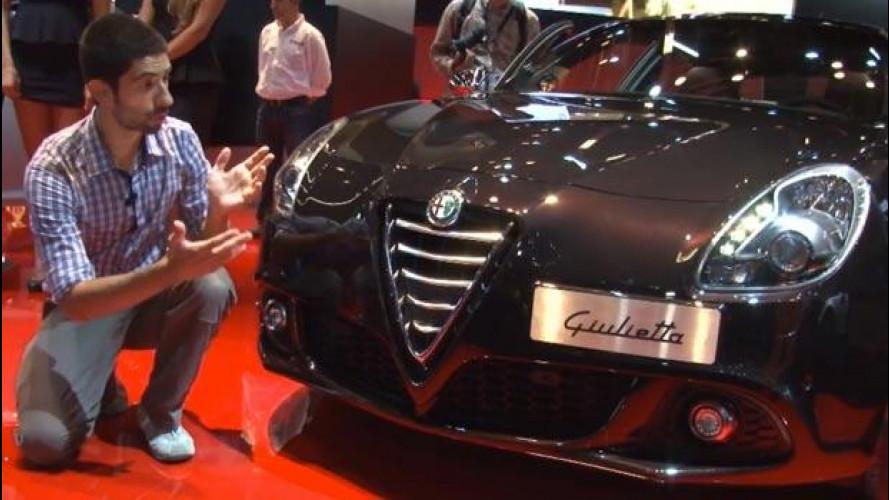 Salone di Francoforte, com'è la nuova Alfa Romeo Giulietta vista dal vivo [VIDEO]