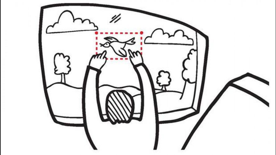 Il finestrino a realtà aumentata di Toyota ha vinto il Concorso di design Core77
