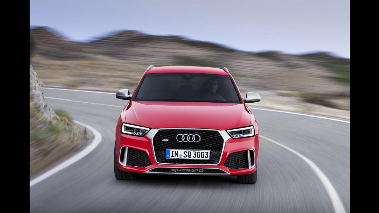 Audi RS Q3 restyling 2015