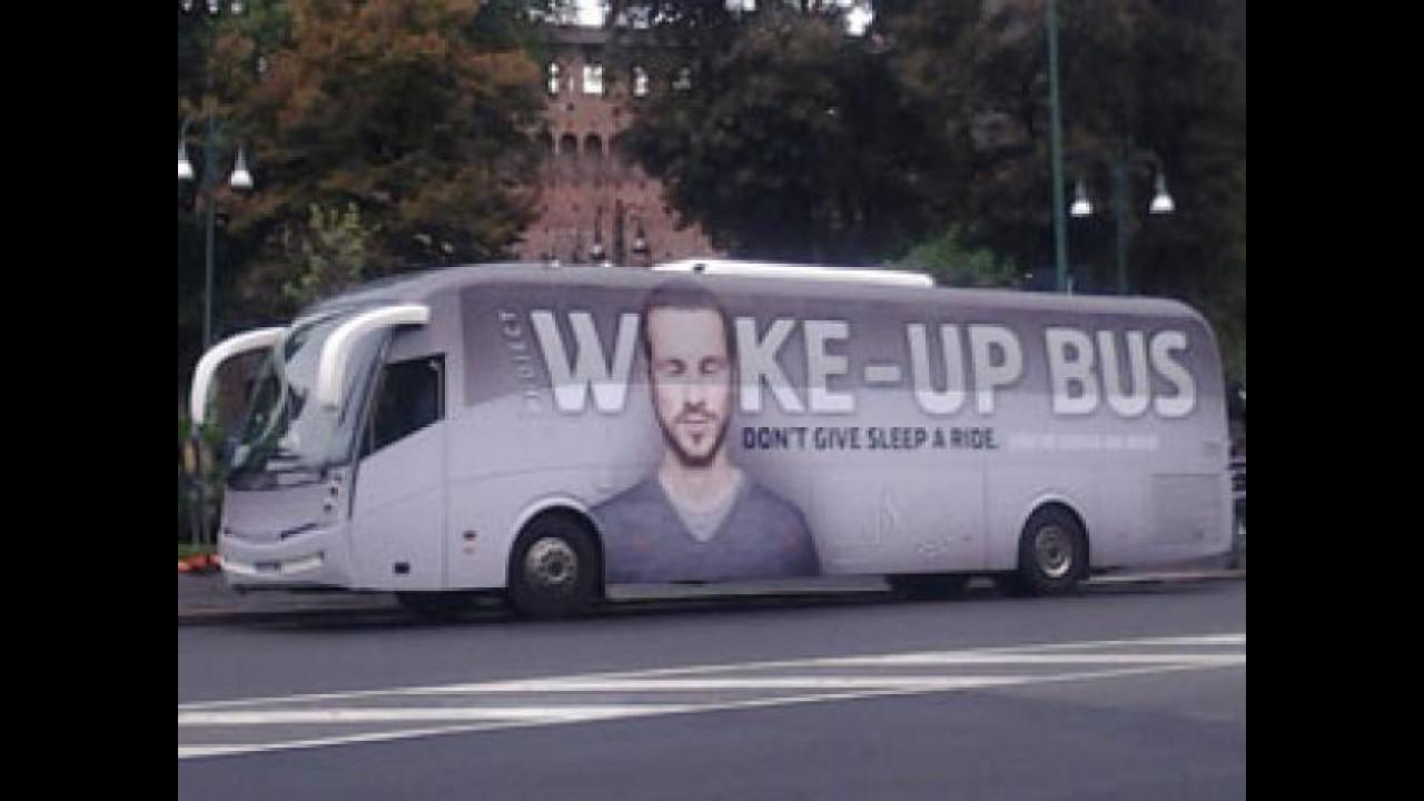 [Copertina] - Sicurezza stradale, a Milano è arrivato il Wake Up Bus